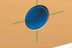 Как установить подрозетники в бетонные стены