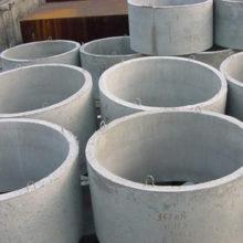 Масса бетонных колец диаметром 1, 1,5 и 2 м