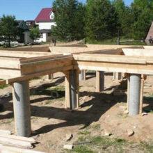 Фундаментные сваи из бетона — габариты и стоимость