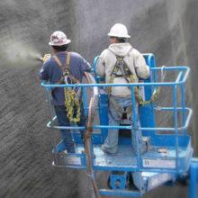 Что такое торкрет-бетон? Описание технологии торкретирования