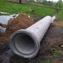 Размеры и стоимость труб для дренажа из армированного бетона