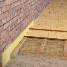 Виды шумоизоляции для полов из бетона