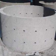 Железобетонные кольца с перфорацией для выгребной ямы и труб