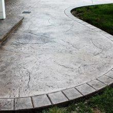 Инструкция по изготовлению штампованного декоративного бетона