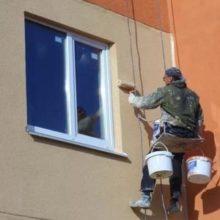 Выбираем хорошую краску для бетонных фасадов