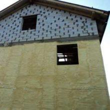 Методы наружной теплоизоляции домов из газобетона