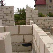 Инструкция по монтажу стен из газоблоков своими руками