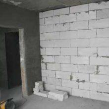 Строительство несущих стен из газобетонных блоков