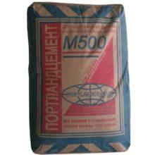 Параметры и свойства портландцемента М 500