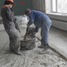 Сколько цемента понадобится на 1м2 стяжки?
