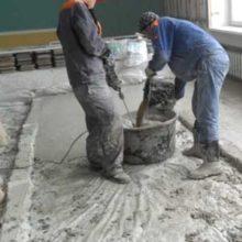 Соотношение цемента и песка для заливки стяжки пола