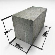 Блоки из газобетона для стен и перегородок
