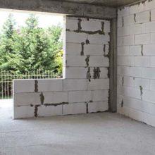 Инструкция по возведению стен из газобетонных блоков