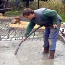 Способы уплотнения бетонного раствора