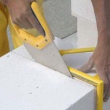Обзор инструментов для обработки газобетонных блоков
