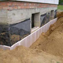 Способы наружной теплоизоляции фундамента дома