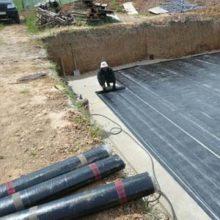 Фундаментная гидроизоляция в рулонах
