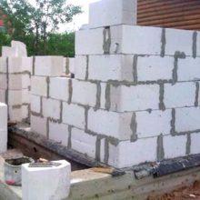 Фундамент под дом из газосиликатных блоков