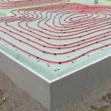 Строительство утепленной шведской плиты фундамента