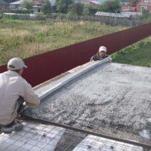 Как выбрать марку бетонного раствора для плитного фундамента?