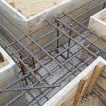Диаметр арматурных стержней для фундаментной ленты