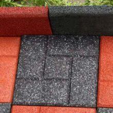 Плитка для тротуара из резиновой крошки