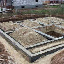 Расценки на работы по строительству фундамента