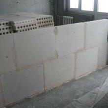 Размеры пенобетонных блоков для возведения перегородок