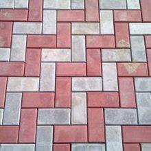 Руководство по монтажу тротуарной плитки кирпичиком