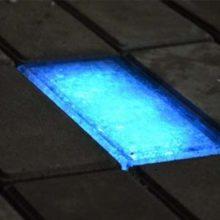 Светящаяся плитка в качестве тротуарного покрытия