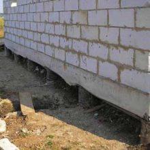 Строительство фундамента на пучинистой почве