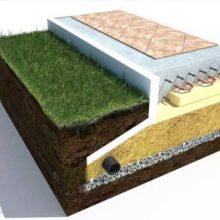 Толщина монолитной плиты фундамента под частный дом