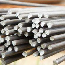 Гладкие стальные арматурные прутья