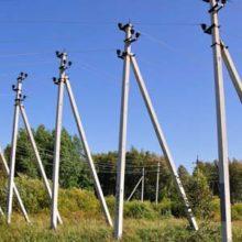 Железобетонные столбы для линий электропередач