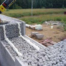 Какой толщины делают стены из керамзитоблоков?