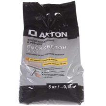Применение пескобетона марки Axton