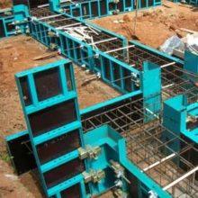 Применение съемной опалубки для строительства монолитного фундамента