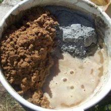 Технология замешивания цементно-песчаной смеси