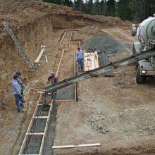 Цены бетонирования конструкций с армированием и сборкой опалубки