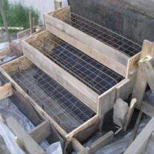 Руководство по возведению опалубки для лестницы из бетона