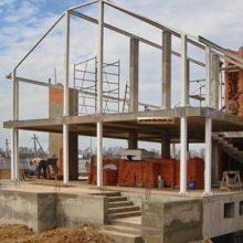 Строительство домов по монолитно-каркасной технологии