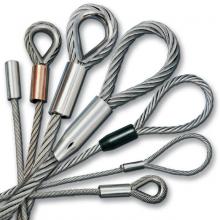 Какие комплектующие используются для оснащения стропов?