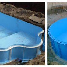 Большая разновидность бассейнов от компании vashbas