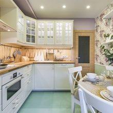 Дизайн кухни — столовой — гостиной — варианты офрмления